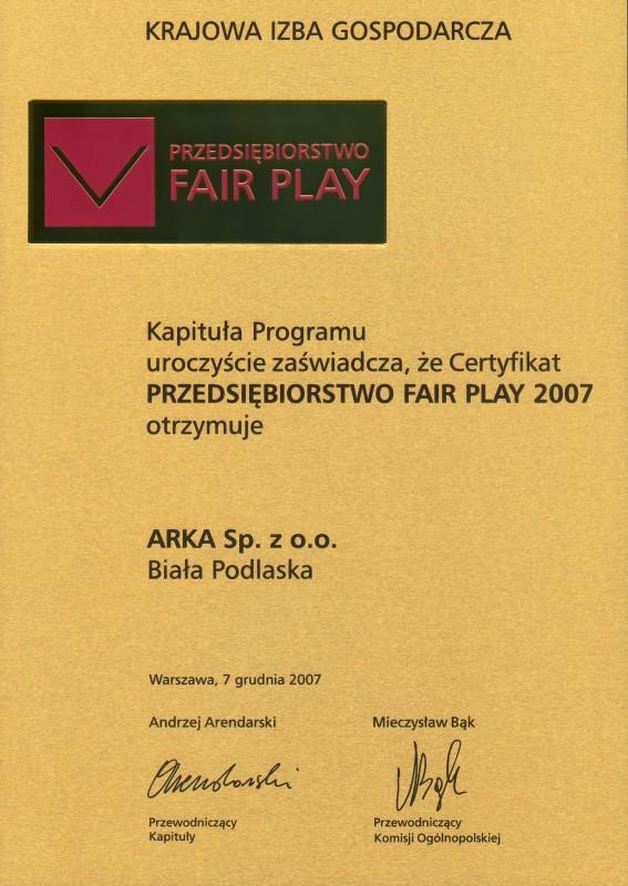 Fair Play 2007