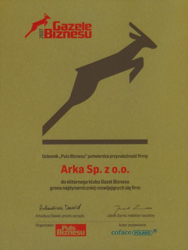 Gazela Biznesu 2007